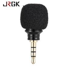 Teléfono móvil smartphone mini micrófono omnidireccional MIC 3.5mm Jack plug Micrófonos para iphone5 6 7 más grabadora microfono