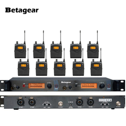 Betagear In Ear Monitor 10 Receivers Professional In Ear Monitor System Monitoring SR2050 in ear stage monitoring Digital system