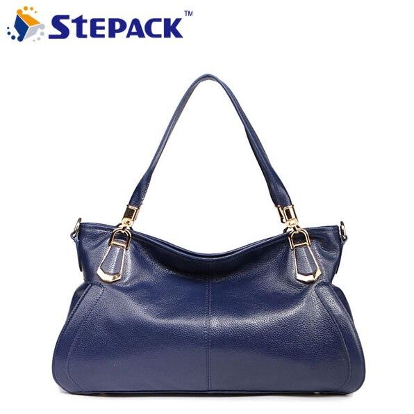 ФОТО 2016 New Arrival High Quality Women Laptop Female Bag Handbag Fashion Big Women Messenger Bag Cowhide shoulder Bag WMB0066