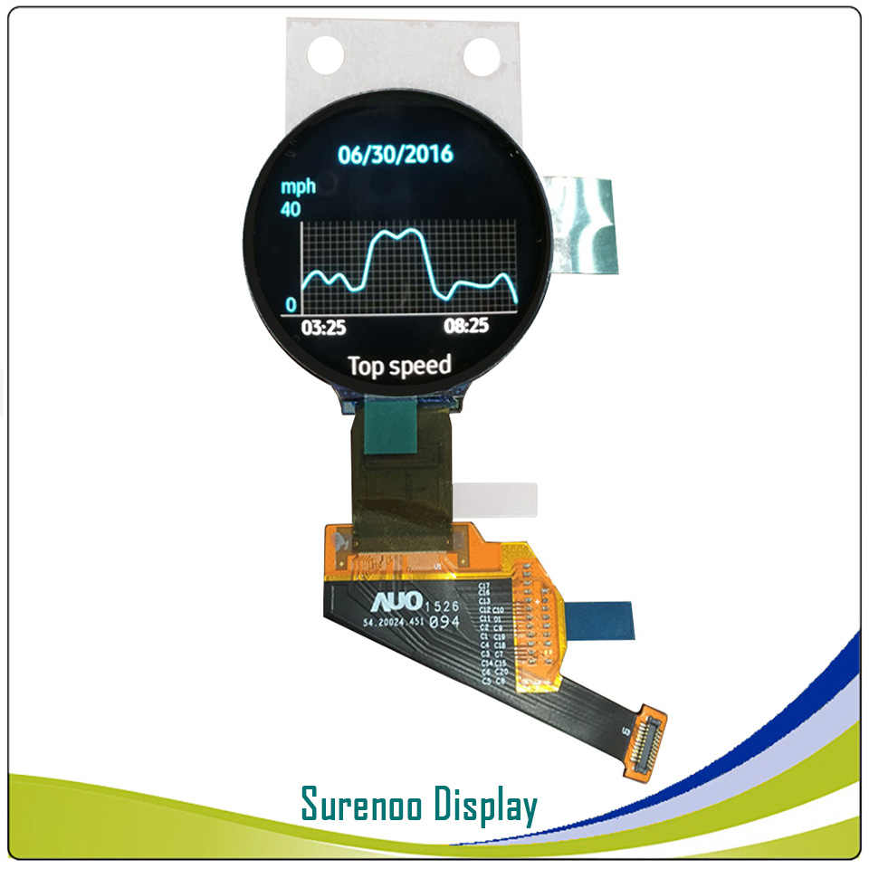 Real AMOLED pantalla 1,39 pulgadas 400*400 círculo redondo Circular OLED LCD módulo pantalla H139BLN01.2 con interfaz MIPI RM69080