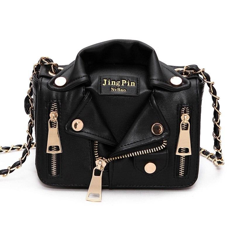 80d483b711753 Europejski Hot marka projektant torby motocyklowe kobiety odzież ramię  kurtka torby torba kobiety PU skórzane torebki