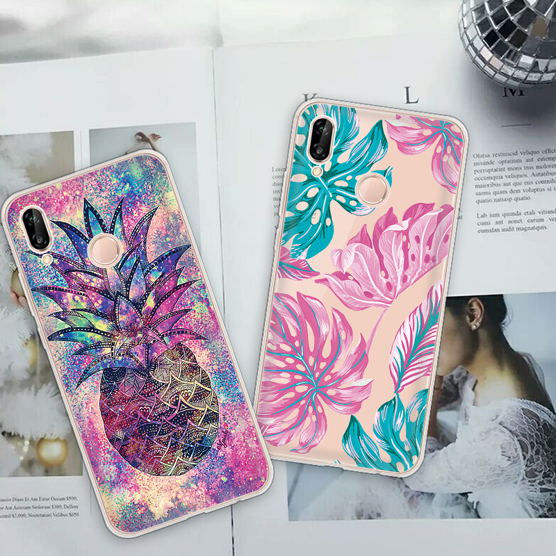 New <font><b>Case</b></font> For Huawei P20 Pro P30 Lite P Smart Plus 2019 Silicon Cover Capa For <font><b>Honor</b></font> 10 Lite 10i <font><b>20i</b></font> 8X Coque Funda Capa Shell image