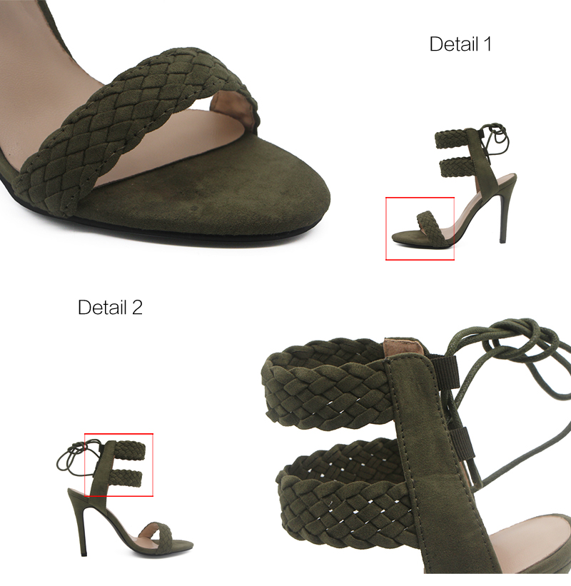 LALA IKAI Ankle Strap Sandals Women (9)