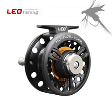 Leo Fly Fishing Reels 3BB Ball Bearing Metal Former Ice Rafting Wheel Left Right Interchangeable Handle Fishing Tackle Pesca
