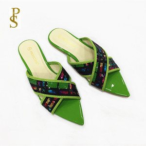 Image 3 - الصيف الشقق أحذية نسائية Ms النعال سيدة الأحذية