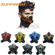 Riding mouth face mask fashion dust n99 neoprene smog fog motorbike cycling air filter anti odor smoke