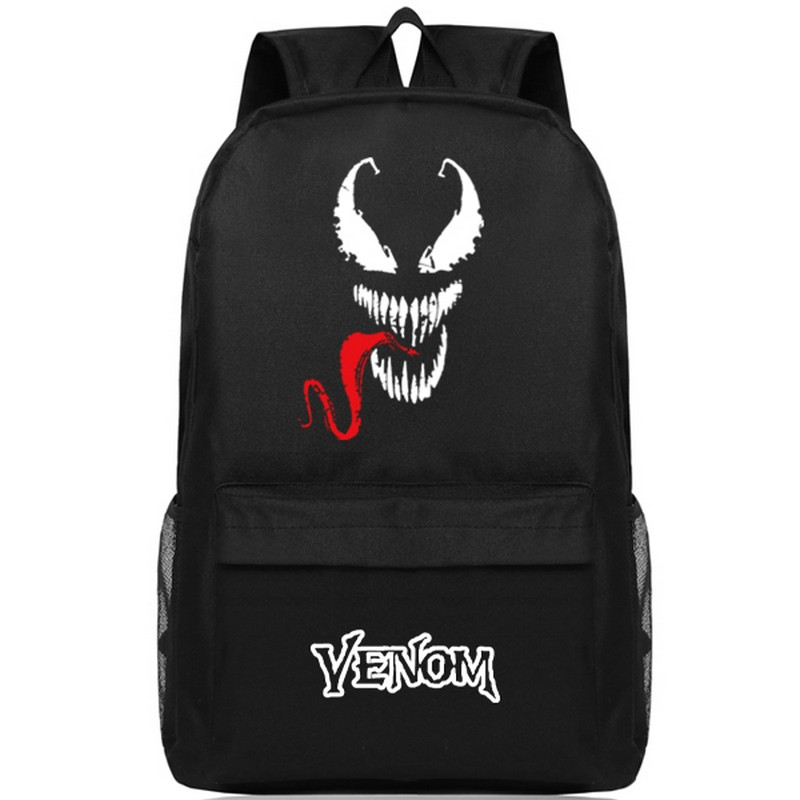 4253d15417 MeanCat Marvel Comic Spiderman Venom Guardian of Death Collection School  Backpack Super Star Spider Man Venom Laptop Backpacks-in Backpacks from  Luggage ...
