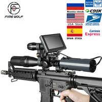 Tactical 850nm podczerwieni cyfrowy LED IR Night Vision urządzenie noktowizor Sight kamery zewnętrzne wodoodporna pułapka przyrody