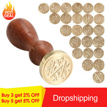 Alphabet Letter Retro Wood Classic Initial Wax Seal Stamp Post Decorative Wood Stamping Craft Gifts Rubber Stamp Hot Sale hot sale sunflower butterfly stamp letter pattern pillowcase