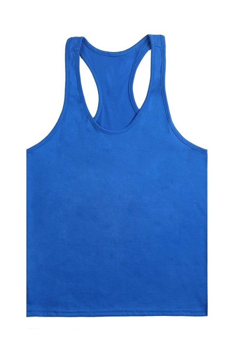 Men Plus Size Tank Tops Cotton Fitness Vest For Man O-Neck Sleeveless Bodybuilding Tank Tops Summer Male Solid Casual Tank Vest