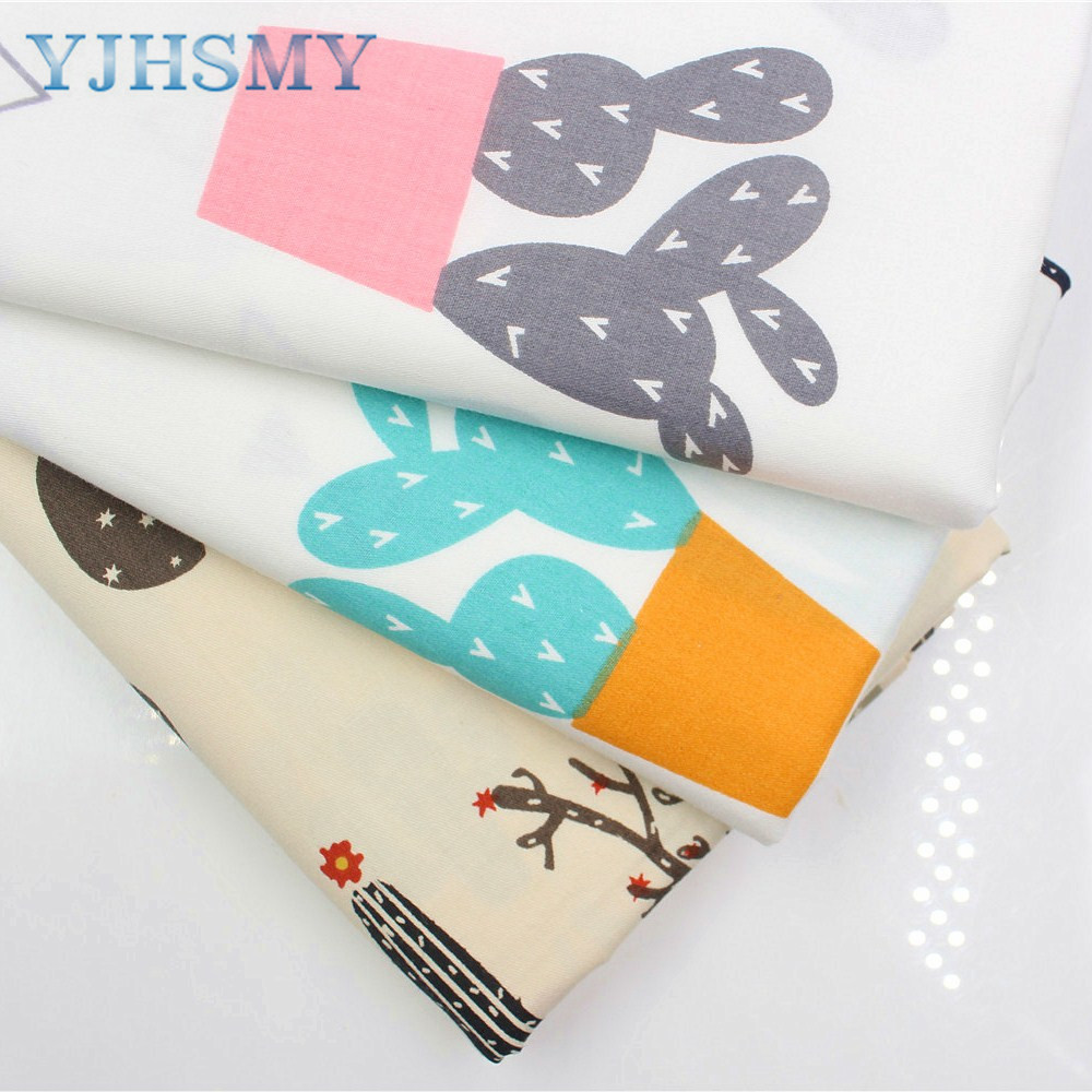 YJHSMY 176266,Cartoon cotton fabric,width 50 x160cm/pcs,DIY handmade crib bedding sets,pillows,tablecloths,baby bed linings