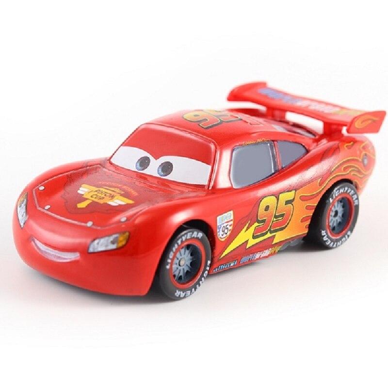 Disney Pixar машина 3 автомобиль 2 Маккуин автомобиль Игрушка 1:55 литой металлический сплав модель Игрушечная машина 2 детские игрушки День рождения Рождественский подарок - Цвет: 24
