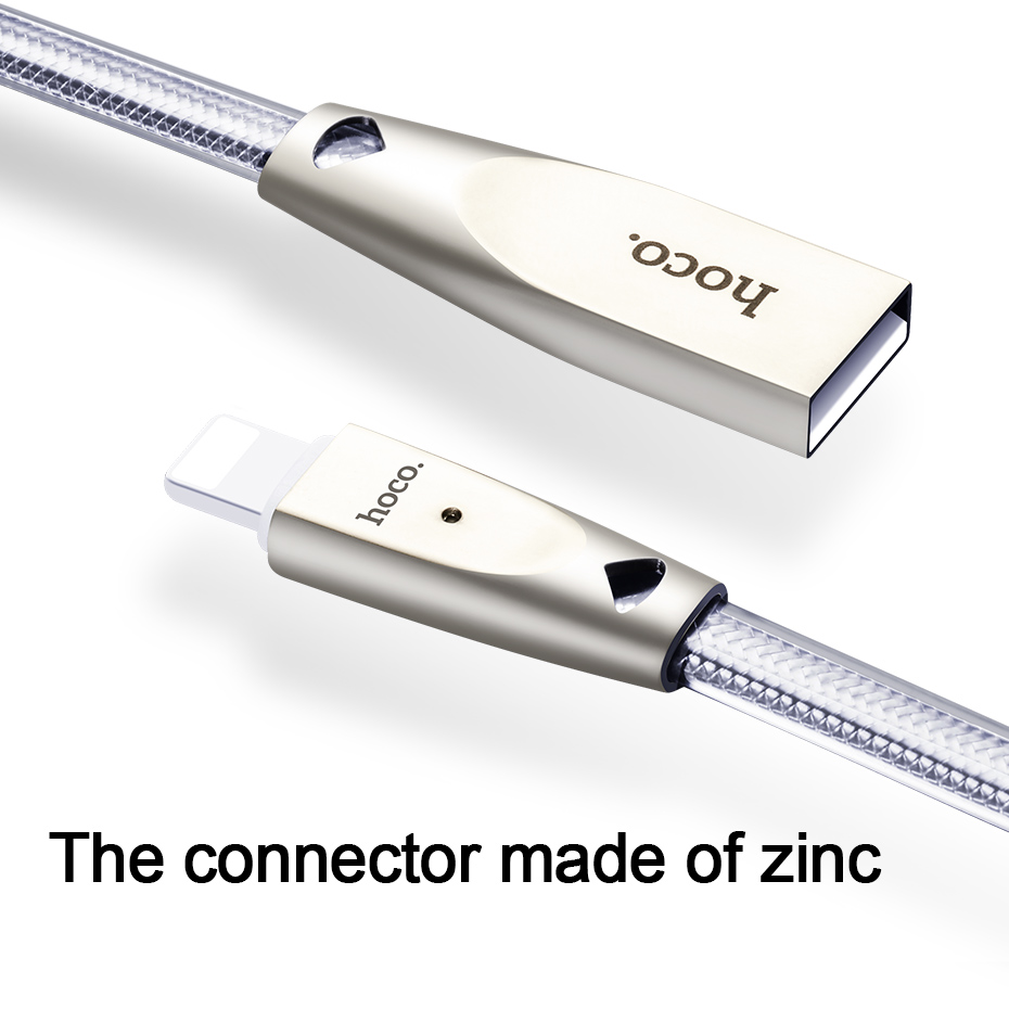 HOCO USB კაბელი Apple 2.4A სწრაფი - მობილური ტელეფონი ნაწილები და აქსესუარები - ფოტო 5