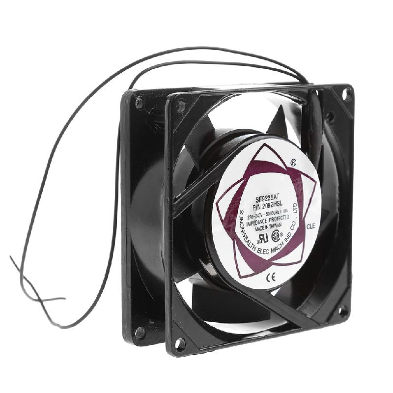 Sleeve Bearing ABS and Metal 50/60 (Hz) 220-240V AC 2-Wire Cooling Fan Cooler Radiator, Cooler AC Cooling Fan For Computer computer cooler radiator with heatsink heatpipe cooling fan for hd6970 hd6950 grahics card vga cooler