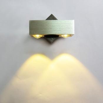 Светодиодный настенный светильник Бра Декор Светильник лампы теплый белый