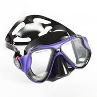 Diving Mask Anti fog Tempered Glass Swimming Diving Snorkel Mask