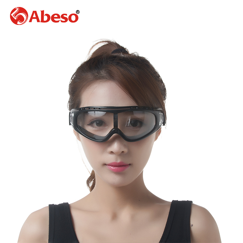 ABESO Adjudtable Industrial  Goggles Reinforcement For Electric Welding Glare With Elastic Band Safety Goggles A7902