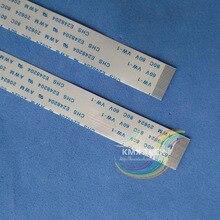 10ピースリボンケーブル24ピン0.5ミリメートルピッチ150ミリメートル300ミリメートルab ffcフラットフレックスケーブルピン20624 awm 80c vw 1 60ボルト電源ボタン