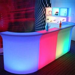 Nordic KTV Bar Stoel Nachtlampje Hotel Receptie Afstandsbediening Kleurrijke Night Lamp Moderne LED Meubels Industriële Verlichting