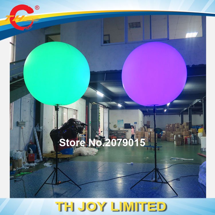Free Air Shipping Road Guide Led Lights Balloons / Outdoor