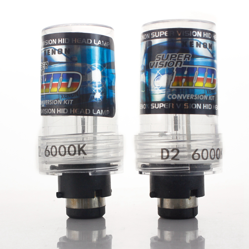 Free shipping!! (2pcs/lot) Car Headlights Xenon D2S HID Bulb Lamp 4300K Warm White ,6000K white D2S Hot Selling