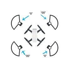 4 шт. реквизит Пропеллеры защитный бампер лезвие Крушение протектор для DJI Spark Drone futural цифровой jun24