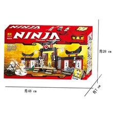 Free shipping Phantom Ninja series Thunder Swordsman Minifigures toys building block sets toy eductional children toys 9734