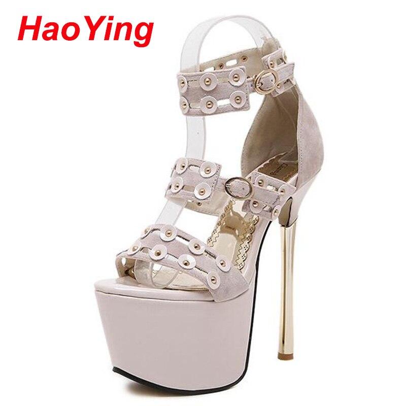 ФОТО platform sandals for women party shoes pumps Summer women shoes high heels Sandals Women heels shoes sexy pumps nude heels D542