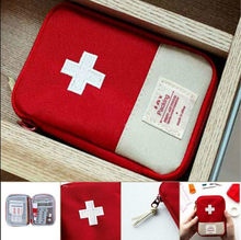 Mini Emergency Survival First Aid Kit Pack Travel Medical Sports Bag Case Pouch(China)