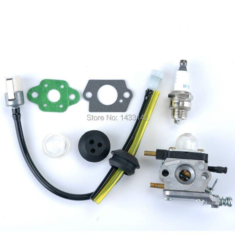 Carburetor Carb Fuel LIne for ZAMA C1U K54A Mantis Tillers