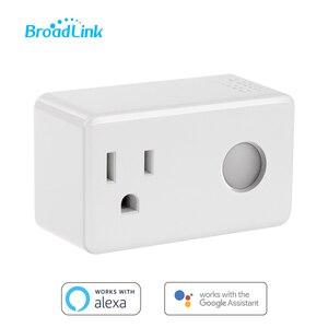 Image 1 - Broadlink sp3 tomada inteligente interruptor do temporizador da ue casa inteligente controlador wi fi controle sem fio tomada de energia para alexa google