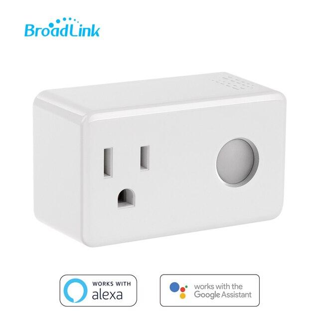 Broadlink sp3 tomada inteligente interruptor do temporizador da ue casa inteligente controlador wi fi controle sem fio tomada de energia para alexa google