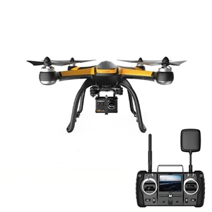 Hubsan H109S X4 PRO 5.8G FPV Drone RC 1-axis Brushless Gimbal 1080P HD camera Quadcopter RTF Standard Version yuneec typhoon h 5 8g fpv drone with realsense module cgo3 4k camera 3 axis gimbal 7 inch touchscreen rc hexacopter rtf