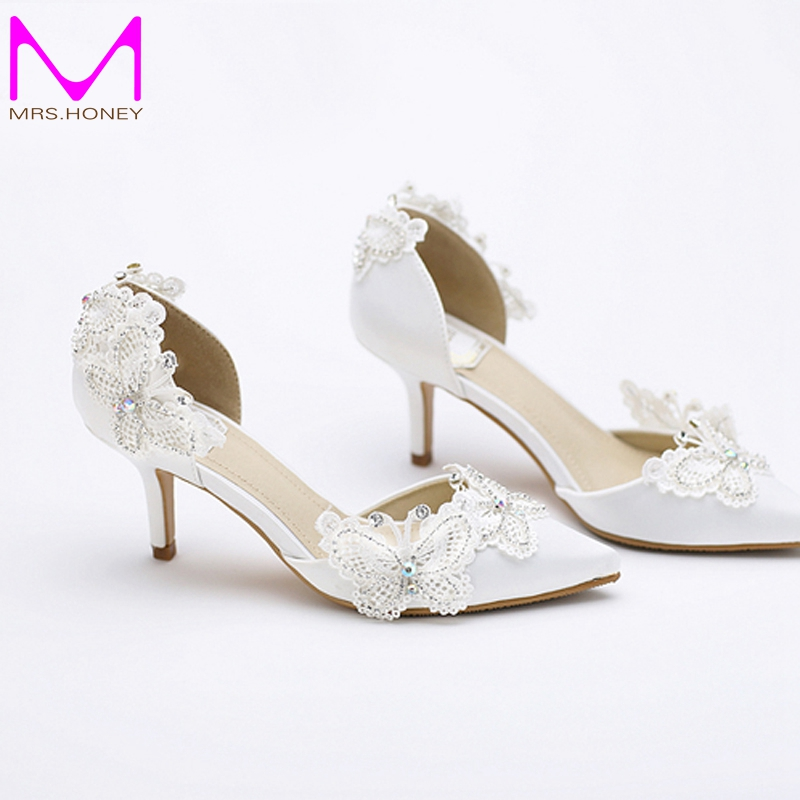 Online Get Cheap Bridal Shoes Kitten Heel -Aliexpress.com