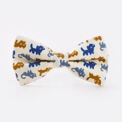Для мужчин галстук-бабочка регулируемый 100% хлопок бабочка галстук кота с бабочкой луки мужские аксессуары