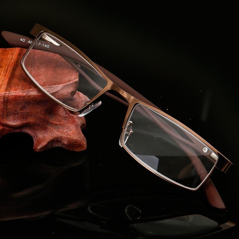HINDFIELD 2016 läsglasögon för legering kvadrat män receptlinser - Kläder tillbehör - Foto 4