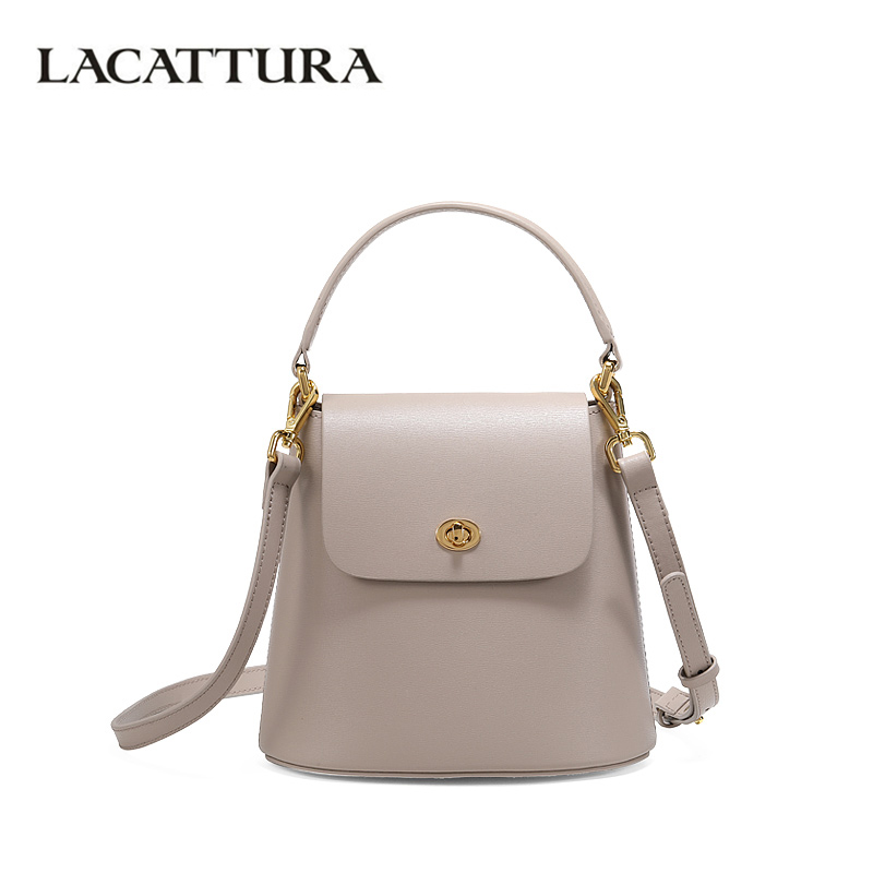 LACATTURA Women Bucket Bag New 2019 Small Shoulder Bags Designer Handbag Ladies Messenger Bags Fashion Crossbody for WomenLACATTURA Women Bucket Bag New 2019 Small Shoulder Bags Designer Handbag Ladies Messenger Bags Fashion Crossbody for Women