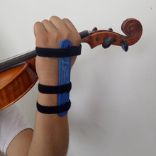 Синий тренажер для запястья, вспомогательное устройство для скрипки, корректор