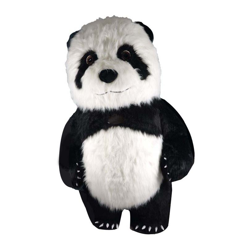 Christmas Panda Inflatable Funny Mascot Advertising Customize For Adult Mascotte Costumes Adulte Disfraz Mascota 2.6M 3M Tall