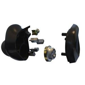 Image 3 - BGVP DMG 2DD + 4BA Hybrid Treiber In Ohr Kopfhörer Metall Hohe Fidelity Monitor mit Abnehmbare MMCX Audio Kabel und Drei Düsen