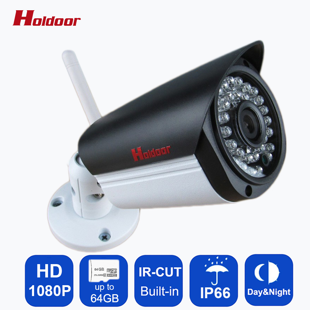 Outdoor Waterproof Wireless IP Camera 1080P Wifi Security Network cam IR Cut Bullet CCTV Night Vision IR Support 64G SD Card wifi bullet ip camera waterproof 18led ir night vision outdoor security camera onvif p2p cctv cam with ir cut