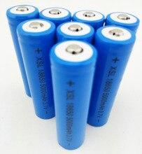 3.7 V 18650 5000 mAh NCR Li Ion Oplaadbare Batterij Cell Pack De werkelijke capaciteit van 2200 mah