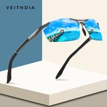 VEITHDIA Aluminum Magnesium Sport Sunglasses Polarized Men C