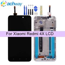 "100% Test Voor Xiaomi Redmi 4X Lcd Redmi 4x Display Touch Screen Digitizer Vergadering Met Frame 5.0 ""Voor Xiaomi redmi 4X Pro Prime(China)"