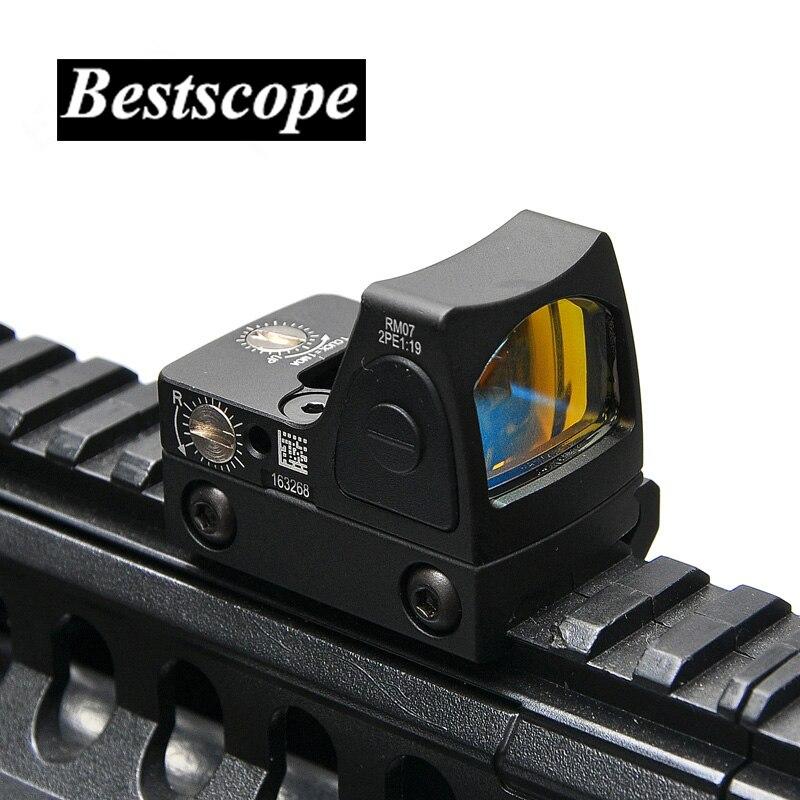 Trijicon мини RMR коллиматор Glock/винтовка Reflex прицел, пригодный 20 мм Weaver Rail для страйкбола /охотничье ружье
