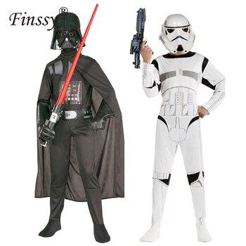 Star Wars siła budzi się czarni żołnierze białych żołnierzy kostium gadżety na halloween piękny prezent dla dzieci
