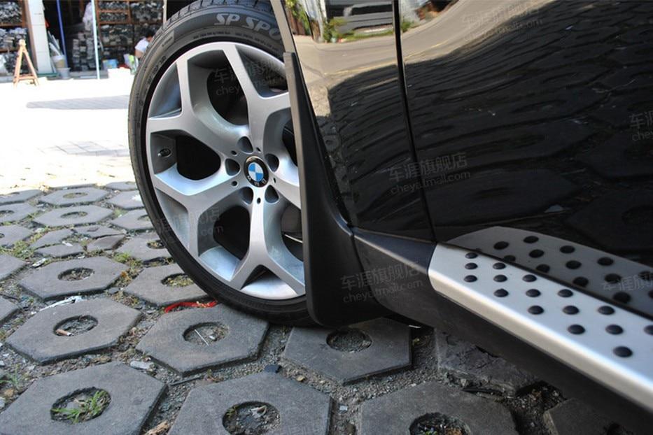 Dirt Splash Guard Mud Flaps Fenders Mudguards For 09 10 11 12 13 BMW X6 E71 E72 2009 2010 2011 2012 2013 front rear mud splash flaps fenders dirt guards mudguards 4pcs for porsche macan 2014 2015 2016