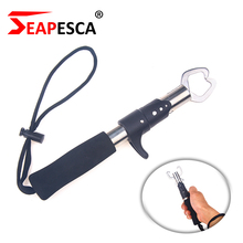 SEAPESCA Control Fish Clamp Device Lures Stainless Steel Fishing Lip Grip Holder Grabber Pliers Weight Scale