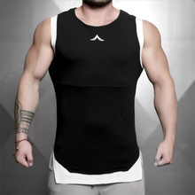 2018 New Mens Sleeveless Tank Tops Summer Male Top Gyms Clothing Bodybuilding Undershirt Sportswear Fitness