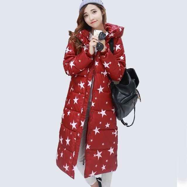 2016 г. Новая женская зимняя куртка новые женские парки Зимняя Одежда Женская длинная куртка женщина одежда верхняя одежда толстые пальто